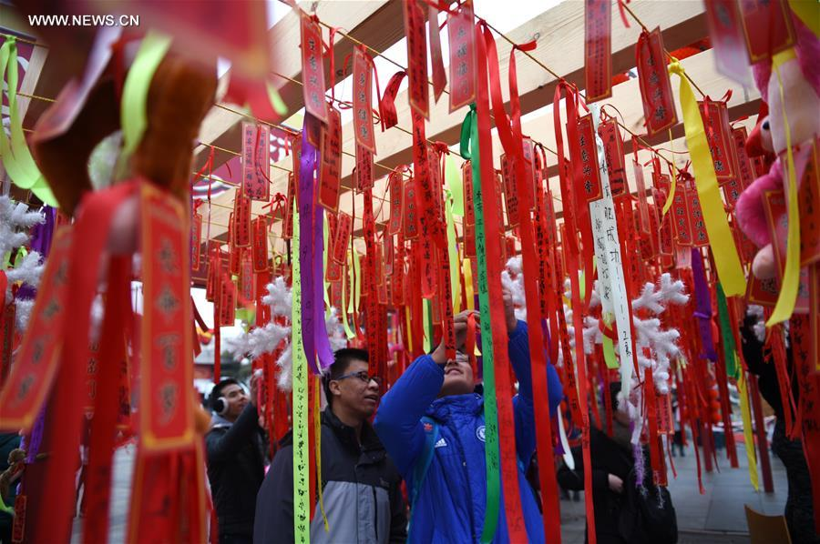 CHINA-BEIJING-SPRING FESTIVAL-TEMPLE FAIR (CN)