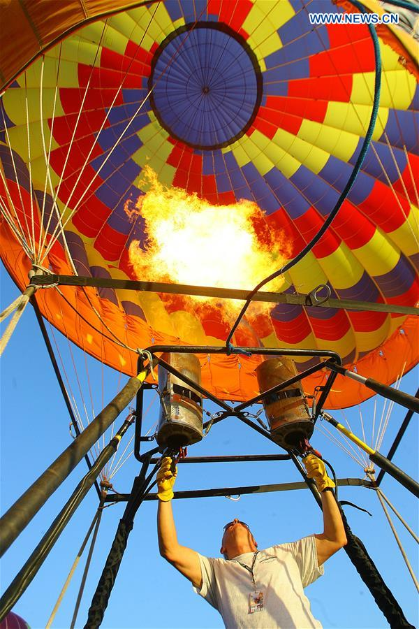 PHILIPPINES-PAMPANGA-HOT AIR BALLOON FESTIVAL