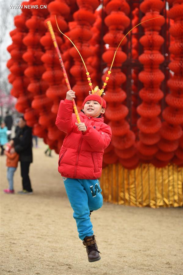 CHINA-BEIJING-SPRING FESTIVAL-TEMPLE FAIR (CN)