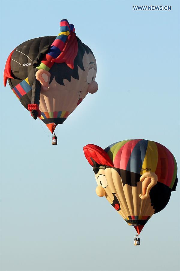 PHILIPPINES-PAMPANGA-HOT AIR BALLOON FESTIVAL