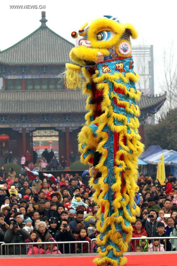 #CHINA-HENAN-SPRING FESTIVAL-TEMPLE FAIR (CN)