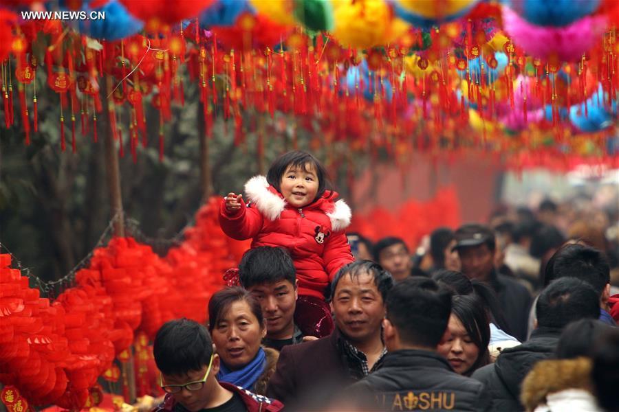#CHINA-HENAN-SPRING FESTIVAL-TEMPLE FAIR (CN)