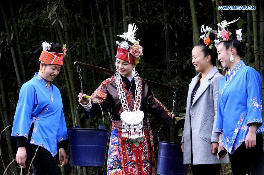CHINA-GUIZHOU-MIAO PEOPLE-TRADITIONAL WEDDING(CN)