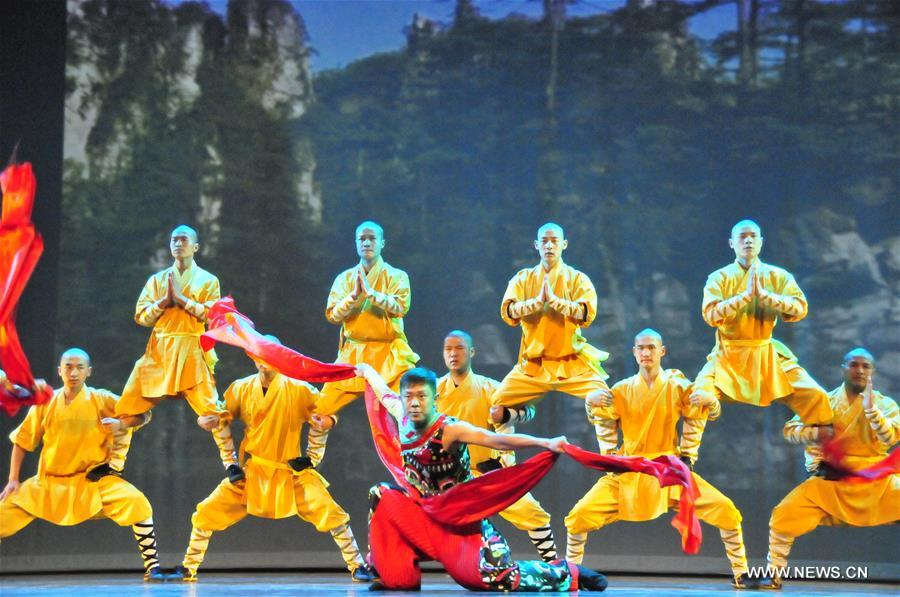 Chinese Artists Give Performance In Houston 3 People 39 S
