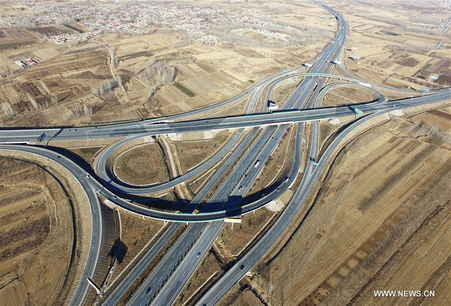 So far, a total of 6,333 kilometers highway have been paved in Hebei province and the highway linking Zhangjiakou and Chengde was also open to traffic.