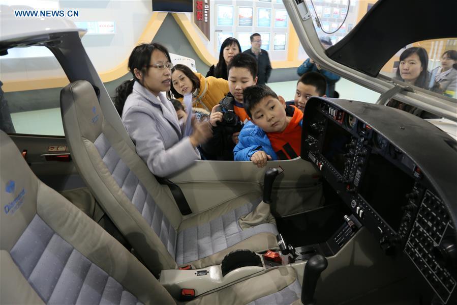 #CHINA-SHANDONG-BINZHOU-AERIAL EXPERIENCE ACTIVITY (CN)