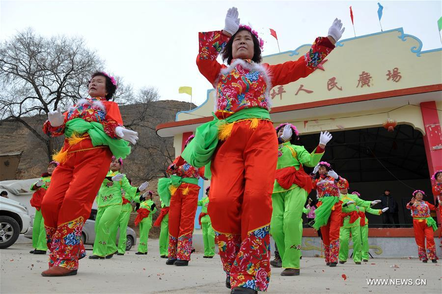 The traditional Lantern Festival fell on Feb. 22 this year