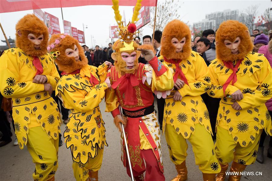 CHINA-ANHUI-SPRING FESTIVAL-CELEBRATION (CN)