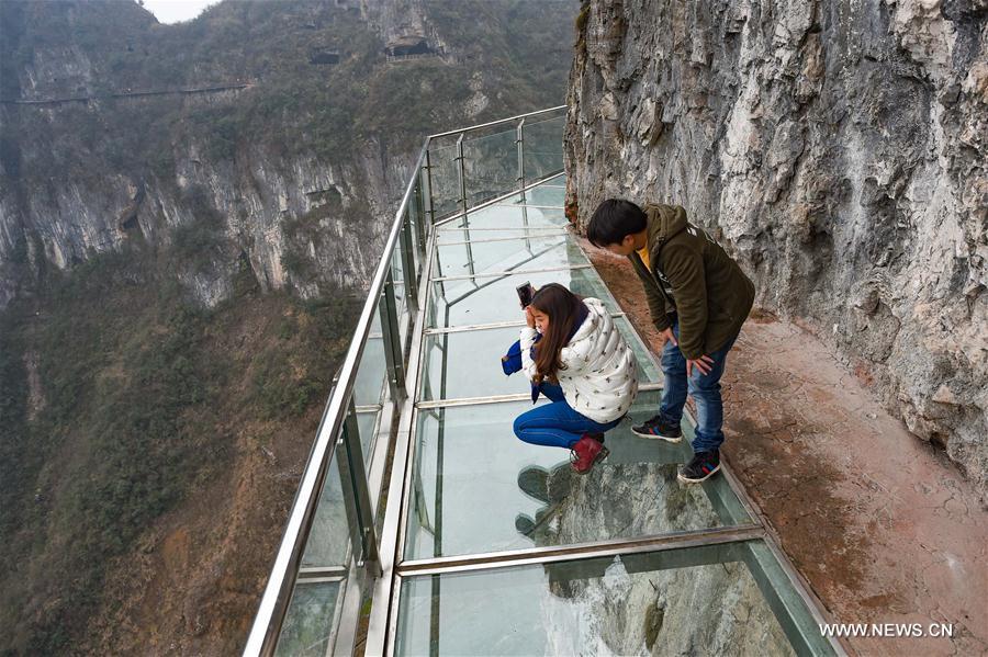 CHINA-GUIZHOU-GLASS SKYWALK (CN)