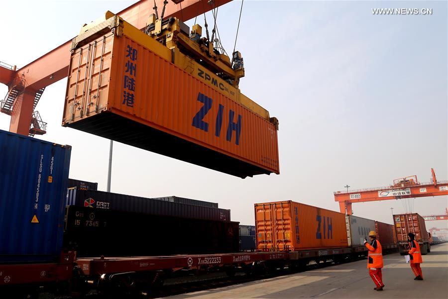 CHINA-HENAN-ZHENGZHOU-HAMBURG-CARGO TRAIN (CN)