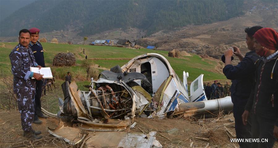 NEPAL-KALIKOT-PLANE-CRASH LANDING-SITE