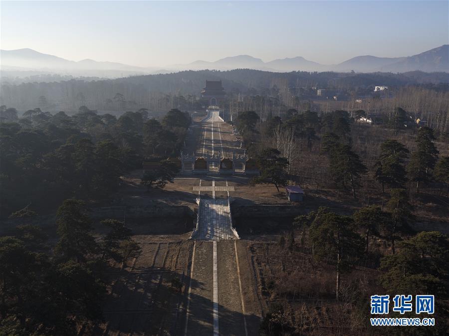 #(美丽中国)(1)航拍清西陵
