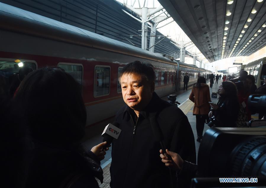 (TWO SESSIONS)CHINA-BEIJING-NPC DEPUTIES-ARRIVAL (CN)