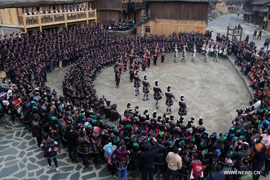 #CHINA-GUIZHOU-FOLK PERFORMANCE (CN)