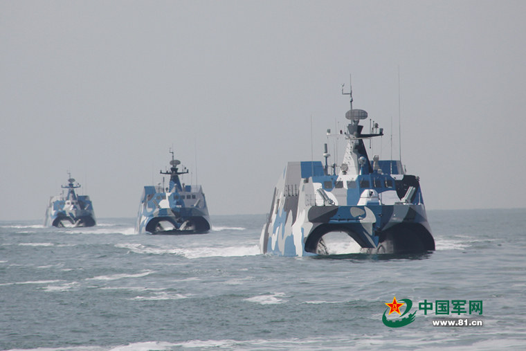 海上狙击手:海军导弹快艇108小时极限作战