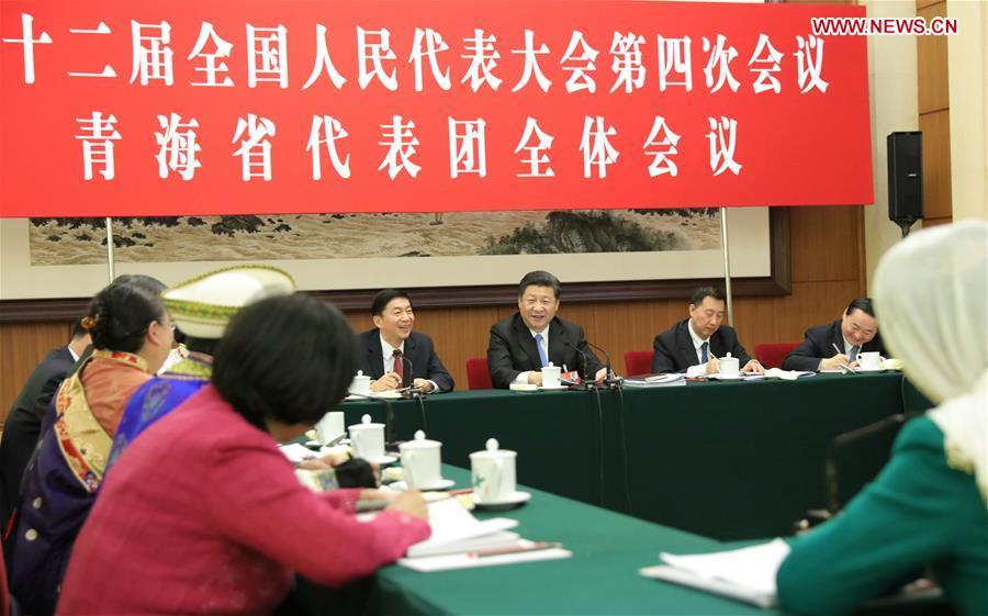 (TWO SESSIONS)CHINA-BEIJING-XI JINPING-NPC-GROUP DELIBERATION (CN)