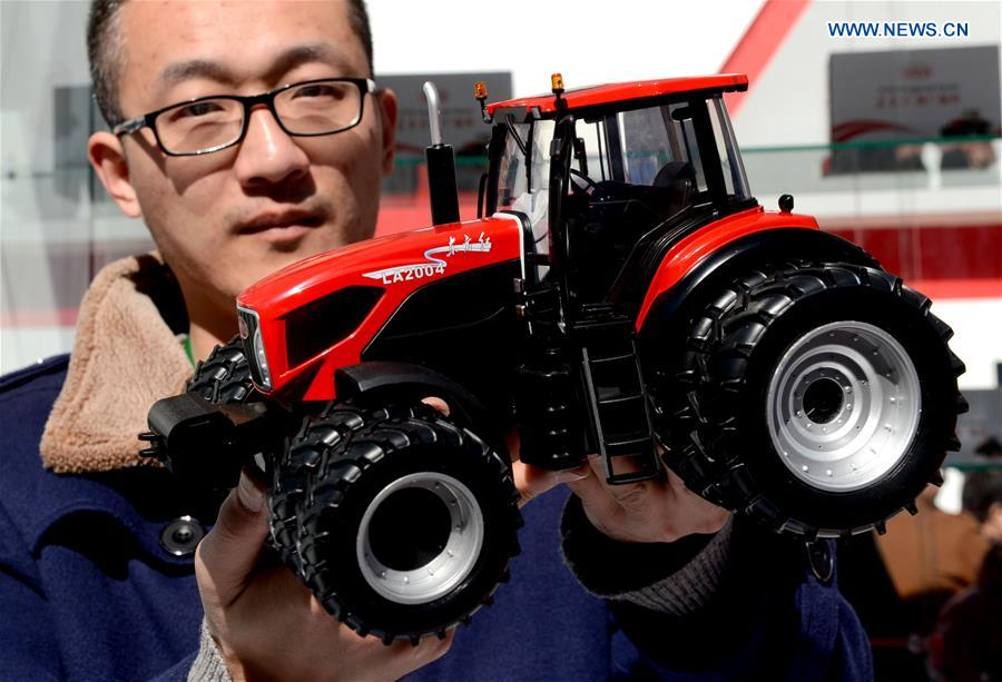CHINA-HENAN-INTELLIGENT AGRICULTURAL MACHINERY-EXHIBITION (CN)