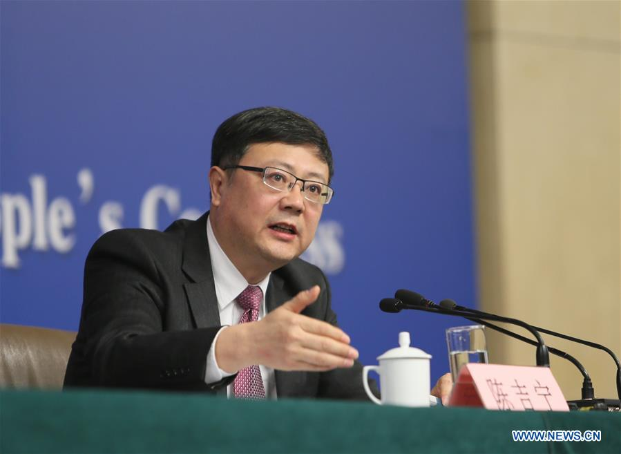 (TWO SESSIONS)CHINA-BEIJING-NPC-PRESS CONFERENCE-ENVIRONMENTAL PROTECTION (CN)