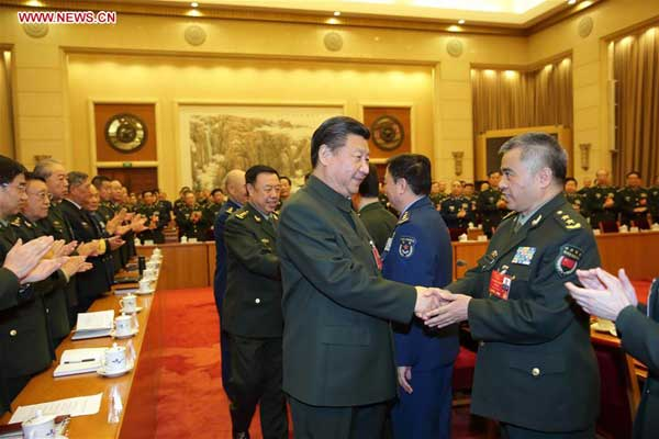 President pushes PLA to innovate