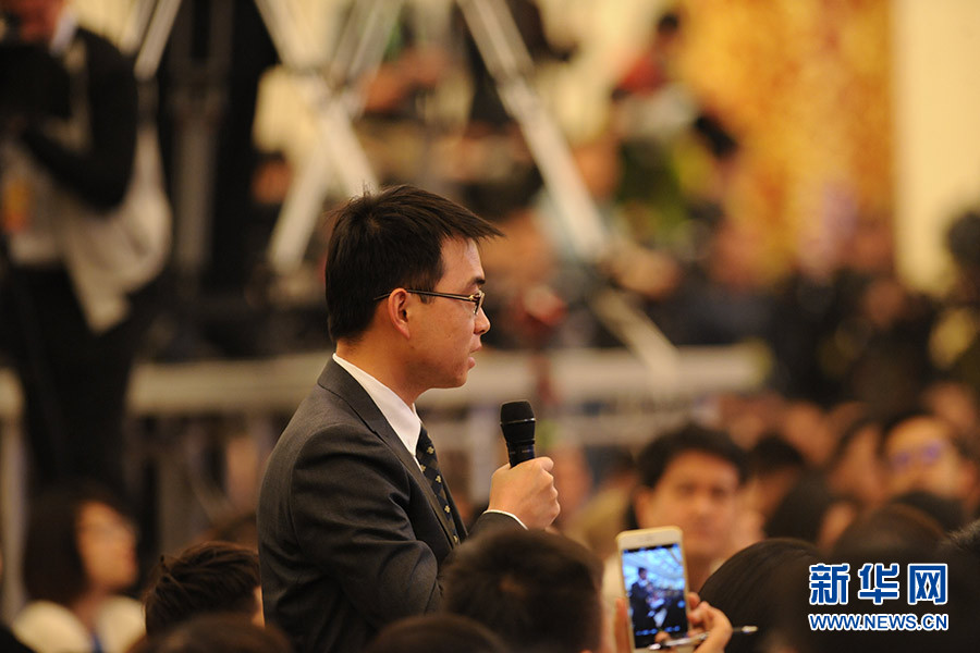 中国新闻社记者提问