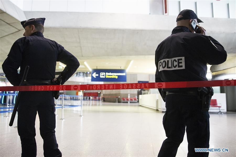 FRANCE-PARIS-AIRPORT-SERCURITY