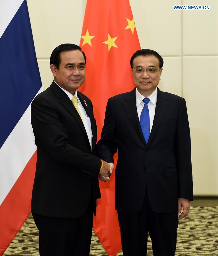 CHINA-LI KEQIANG-THAI PM-MEETING (CN)