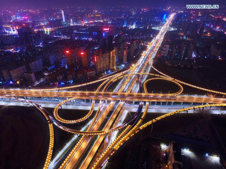 CHINA-HENAN-ZHENGZHOU-OVERPASS(CN)