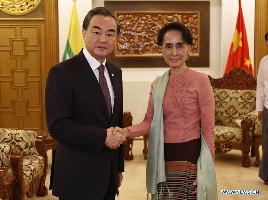 MYANMAR-NAY PYI TAW-CHINA-MEETING