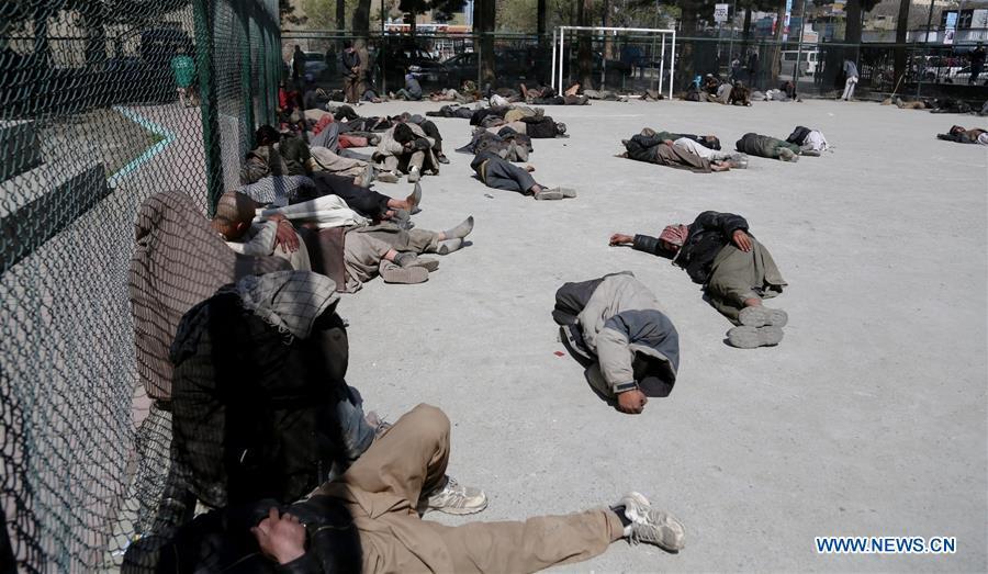 AFGHANISTAN-KABUL-DRUG ADDICTS