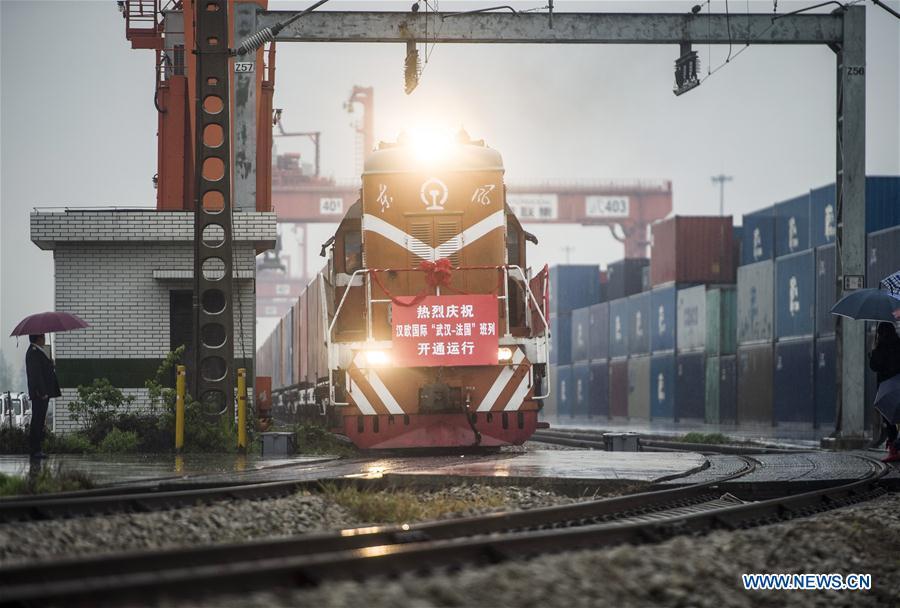 CHINA-HUBEI-WUHAN-LYONS FREIGHT TRAIN (CN)