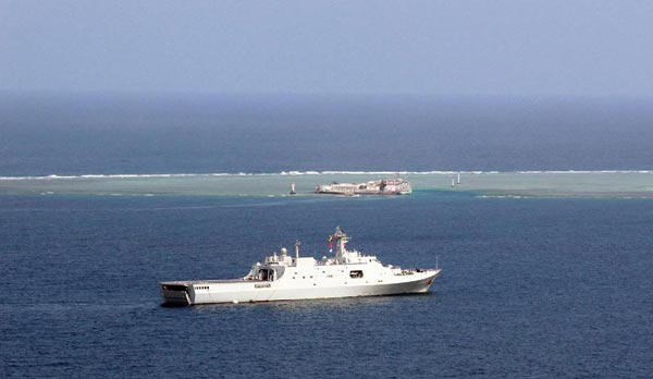US militarizing South China Sea
