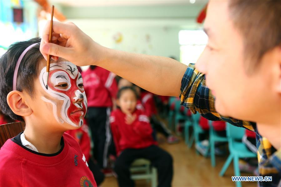 #CHINA-TIANJIN-CHILDREN-PEKING OPERA (CN)
