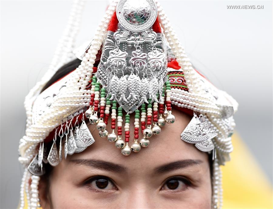 CHINA-FUJIAN-SHE NATIONALITY-HEADWEAR(CN)