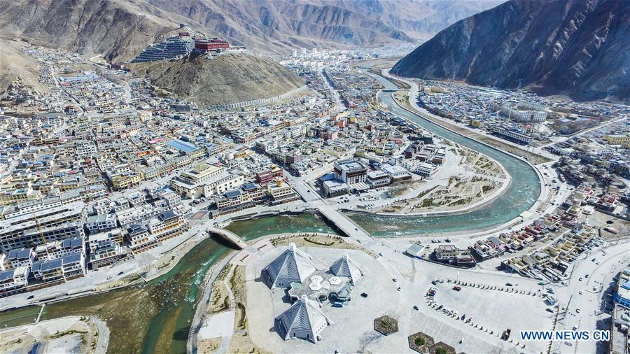 In pics: new look of quake hit Yushu after reconstruction
