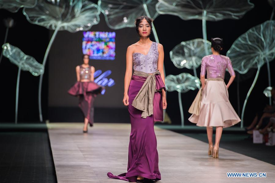 VIETNAM-HO CHI MINH CITY-VIETNAM INTERNATIONAL FASHION WEEK 2016
