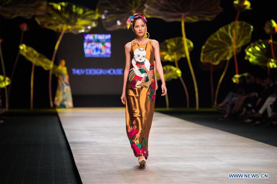 VIETNAM-HO CHI MINH CITY-VIETNAM INTERNATIONAL FASHION WEEK 2016