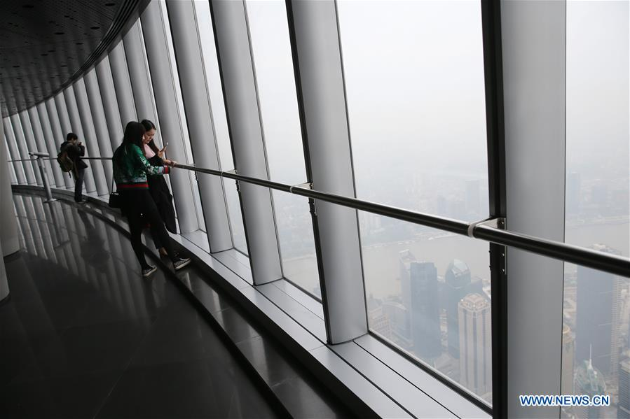 CHINA-SHANGHAI-SHANGHAI TOWER-TRIAL OPENING (CN)