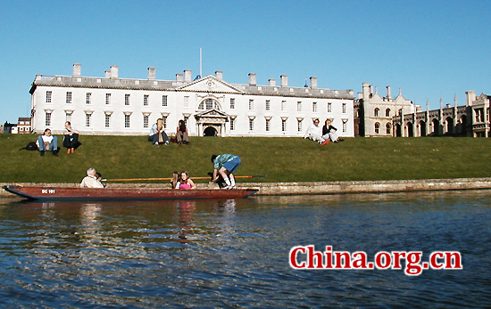 University of Cambridge, one of the 'top 10 science institutions in the world' by China.org.cn.