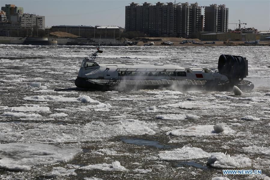 #CHINA-HEILONGJIANG-HEIHE RIVER-ICE FLOE (CN)