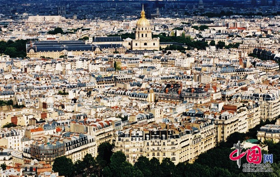 Paris, one of the 'Top 10 least affordable cities in the world' by China.org.cn