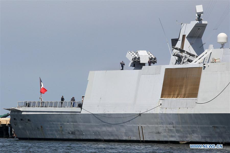 PHILIPPINES-MANILA-FRENCH NAVY-GUEPRATTE