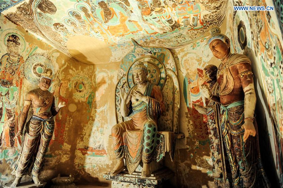 U.S.-LOS ANGELES-CAVE TEMPLES OF DUNHUANG-EXHIBITION