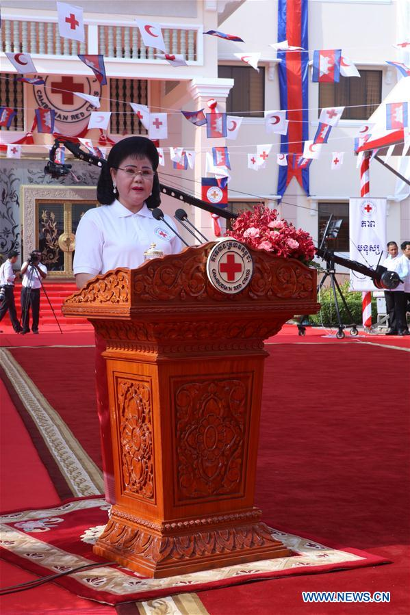 CAMBODIA-PHNOM PENH-RED CROSS AND RED CRESCENT DAY-CRC