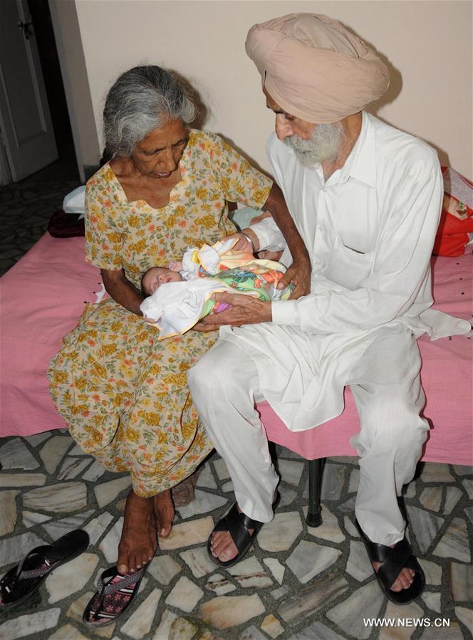 INDIA-AMRITSAR-70 YEAR OLD LADY-GIVE BIRTH
