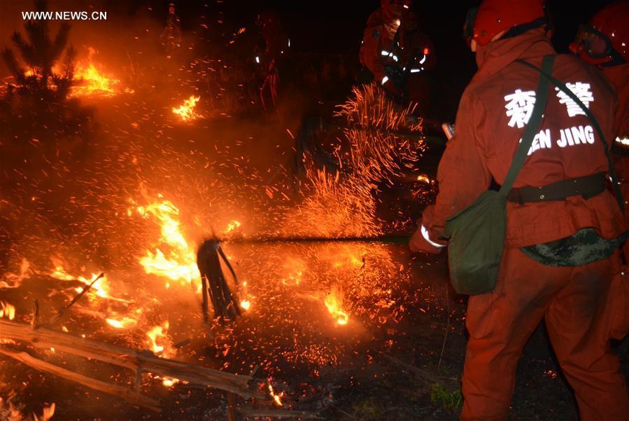 #CHINA-INNER MONGOLIA-FOREST FIRE (CN)