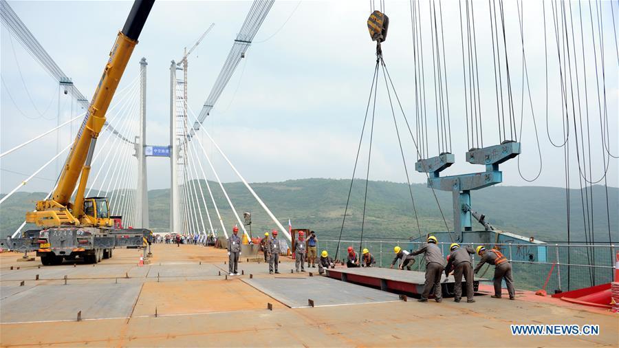 CHINA-GUIZHOU-YACHIHE BRIDGE (CN)