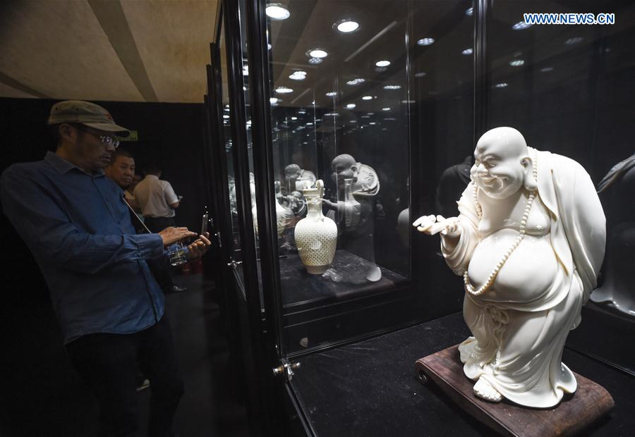 CHINA-BEIJING-PORCELAIN EXHIBITION (CN)