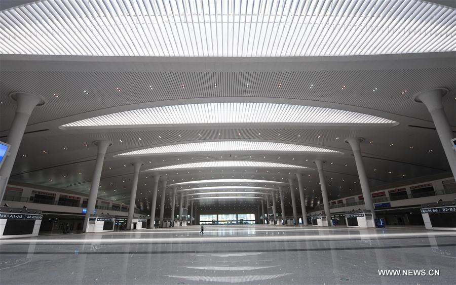 CHINA-XINJIANG-URUMQI-HIGH-SPEED RAIL STATION (CN)