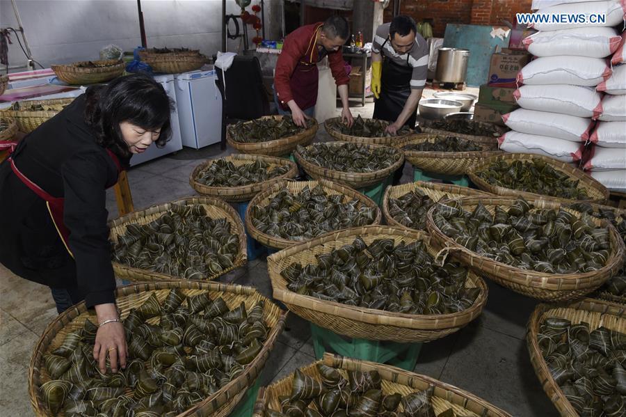 CHINA-SICHUAN-DRAGON BOAT FESTIVAL-ZONGZI (CN)