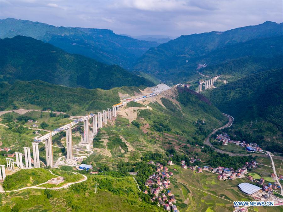 CHINA-CHONGQING-WANZHOU-LICHUAN HIGHWAY-CONSTRUCTION (CN)
